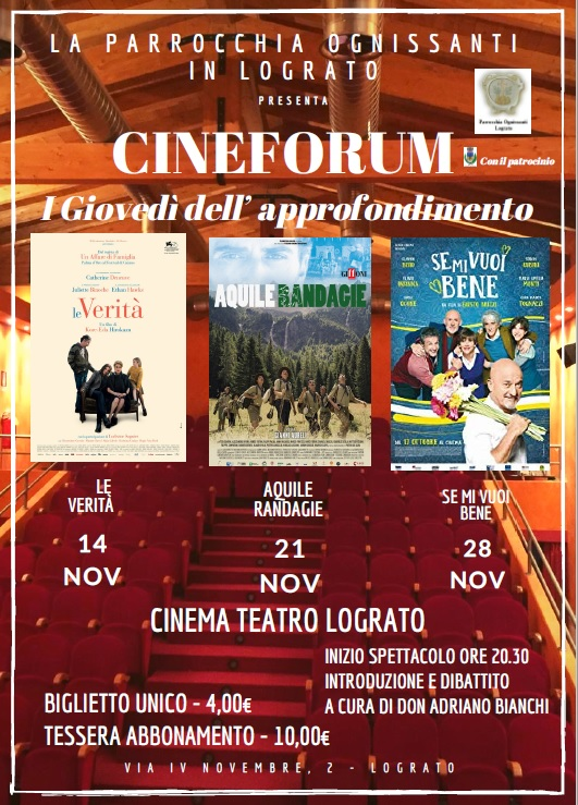 Cineforum Nov 2019